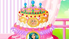 Princess Cake Baking