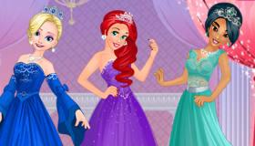 Princess Disney Royal Ball Dress Up
