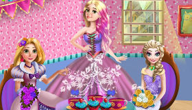 Rapunzel Party Dress Up
