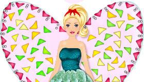 Fairy Barbie Cake