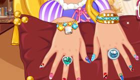 Rapunzel Hand Spa