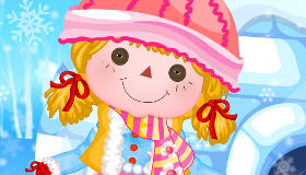 Lalaloopsy Doll Winter Dress Up