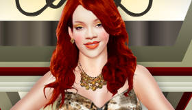 Rihanna Dress Up Game