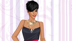 Play Rihanna Dress Up
