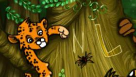 Jungle Alphabet Puzzle