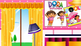 Decorate Dora the Explorer's House