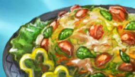 Real Summer Salad Cooking