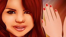 Selena Gomez Manicure Game