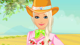Cowgirl Barbie's Pony
