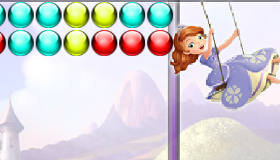 Sofia the First Bubble Shooter