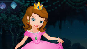 Ballgown Dress Up Sofia the First