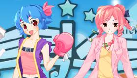 Manga Sisters Dress Up