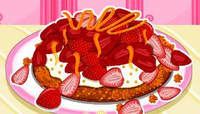 Strawberry Toffee Cake