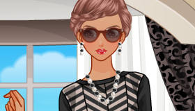 Style Queen Model Dress Up