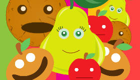 Funny Fruity Faces