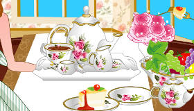 Tea Party Table Decoration