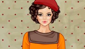 Vintage Fashion Model