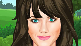 Play Zooey Deschanel Dress Up